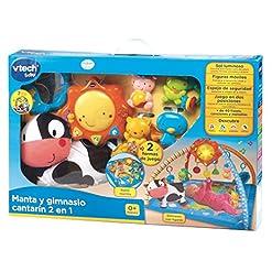 Centro de actividades VTech Baby divertida y confortable manta de actividades para el bebé.