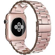 Simpeak Premium Band Straps für Apple Watch, Apple Watch Edelstahl Armband