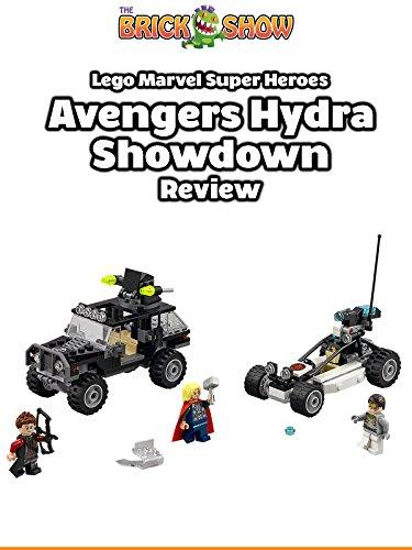 Review: Lego Marvel Super Heroes Avengers Hydra Showdown Review [OV]