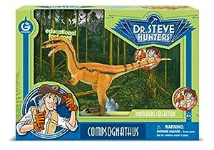 Cazadores Dr. Steve CL1590K - Colección de Dinosaurios: Modelo Compsognathus