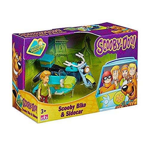 Scooby Doo Mystery Mini Fahrzeug & Abbildung Set Scooby Bike & Sidecar
