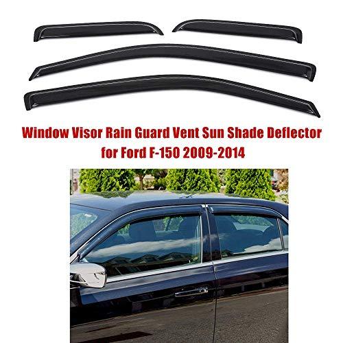 Mirage Auto Windabweiser Set Schutz for Ford F-150 2009-2014 (4 Stück)