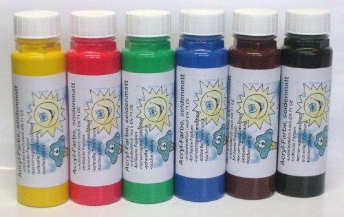 6er-set-acrylfarbe-seidenmatt-malfarbe-kunstlerfarbe-6-x-300-g-6-fach-sortiert-6-verschiedene-farbto