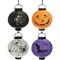 Bazaar accrochant portatile pieghevole lanterna/carta Halloween decorazioni