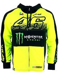 Valentino Rossi VR46 Moto GP Monster Energy Replica Capucha Oficial 2017