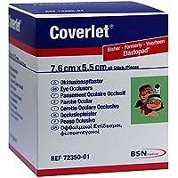 Coverlet Augenokklusionspflaster 76x55mm, 40 St preisvergleich bei billige-tabletten.eu
