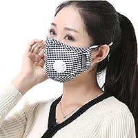TININNA 2 Stück Unisex Wiederverwendbar Mund Gesichtsmaske Anti-Beschlag Mundschutzmasken Mundschutz Maske #4 preisvergleich bei billige-tabletten.eu