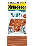 Xyladecor Holzschutzlasur 2in1 Aussen, 5 Liter, Farbton Mahagoni