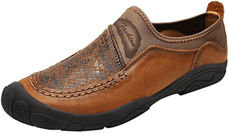 YXLONG Zapatos De Cuero Hechos A Mano De Los Nuevos Hombres De Primavera Tendencia De La Moda De Los Hombres Zapatos... -