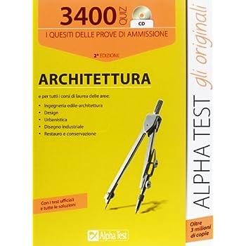 3400 Quiz. Architettura. Con Cd-Rom
