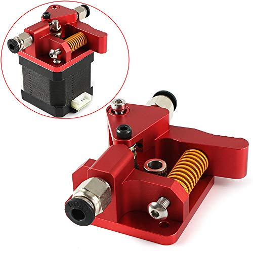 FYSETC 3D-Drucker-Upgrade Extruder mit langer Distanz-Fernbedienung, Metallextruder für Rechtshänder Creality Ender 3 CR-10 Prusa i3 Anet A8 Anycubic Mega Wanhao i3