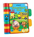 VTech Baby Nursery Rhymes Book | Light Up, Interactive, Musical Baby Book with Sounds & Phrases | Suitable for Babies from 3 Months+