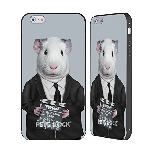 Offizielle Pets Rock Direktor Prominente Schwarz Rahmen Hülle mit Bumper aus Aluminium für Apple iPhone 6 Plus / 6s Plus (Direktoren Rahmen Schwarzer)