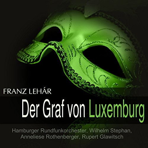 Der Graf von Luxemburg, Act II: Walzer-Szene. 'Ich denk', wir lassen die Astrologie' (Angèle, René)