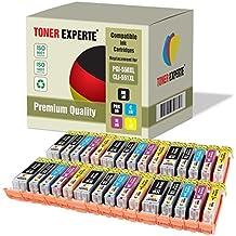 Pack de 30 XL TONER EXPERTE® Compatibles PGI-550XL / CLI-551XL Cartuchos de Tinta para Canon Pixma iP7150, MG5450, MG5550, MG5650, MG6350, MG6450, MG6650, MG7150, MG7550, MX725, MX925, iP7250, iP8750, iX6850