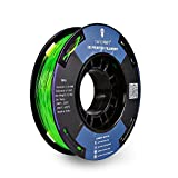 SainSmart Kleine Spule 1.75mm TPU Flexible 3D Filament 250g, Maßgenauigkeit +/- 0,05 mm, Shore 95A (Green)