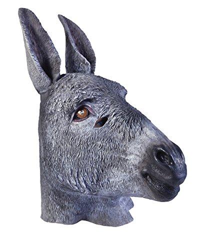 Bristol Novelty BM418 Esel Maske, Mehrfarbig, Einheitsgröße