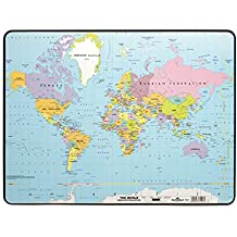 Planisphere monde for Mesa cristal mapamundi