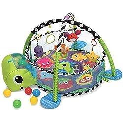 Croissant Avec Moi 3 en 1 Activités Bébés Gym Tapis De Jeu & Ball Fosse avec maille Cotés
