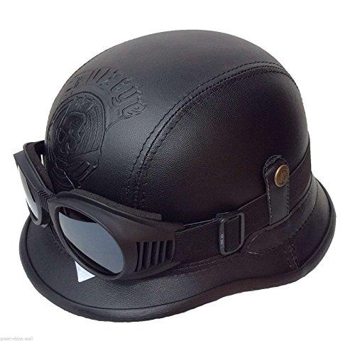 Chopperhelm -XL- ohne Brille Bikerhelm -XL- ohne Brille Roller-Helm ohne Brille Jethelm ohne Brille