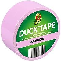 Ducktape 104403 Cinta Adhesiva de Tela, 48 mm x 9.1 m, Rosa Pastel