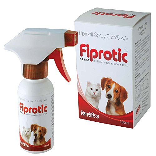 All4Pets Fiprotic Tick Fleas Free Spray (100Ml)