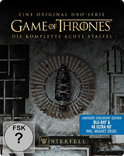 Game of Thrones - Staffel 8 (4K Ultra HD Steelbook) [Blu-ray]