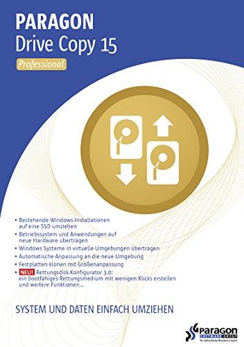Paragon Drive Copy 15 Professional [Download]