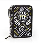 JUVENTUS ALL OVER -ASTUCCIO TRIPLE ACCESSORIATO