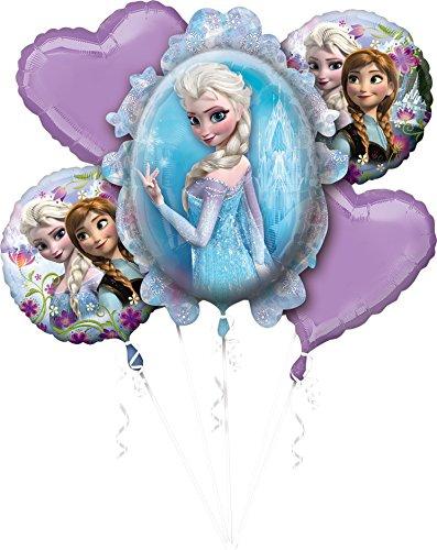 et Disney Frozen Folienballon, Mehrfarbig ()