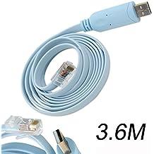 Cavo console FTDI USB, da porta seriale COM RS232 a RJ45 maschio, cavo di scambio per Router Cisco