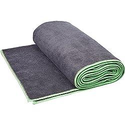 AmazonBasics - Toalla para yoga, Verde