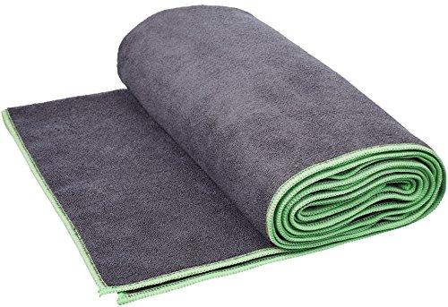 AmazonBasics - Yoga-Handtuch, Grün