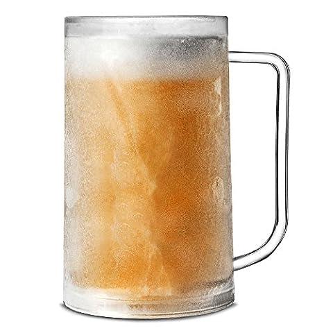 Bar@drinkstuff Chope à bière givrable 400 ml