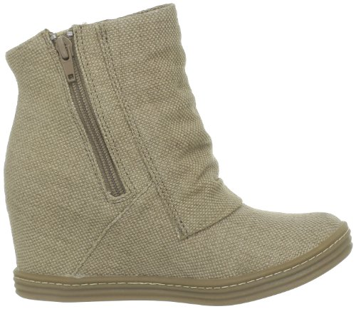 Blowfish Tabbit, Boots femme Beige (Bark roughout canvas)
