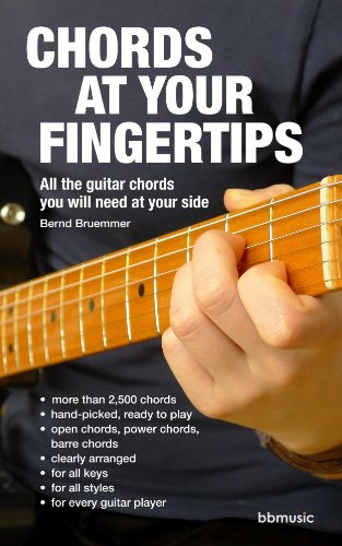 Chords at Your Fingertips: All the guitar chords you will need at your side (English Edition)