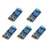 WINGONEER 5Pcs SW-420 NC Type Vibration Sensor Module Vibration Switch Pour Arduino Smart Car...