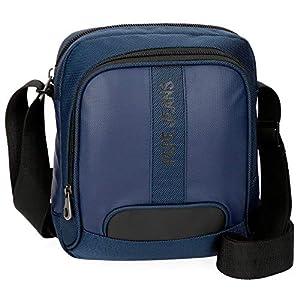 51fZK9gs5kL. SS300  - Pepe Jeans Bromley Maletín, 39 cm, 13.3 litros, Azul