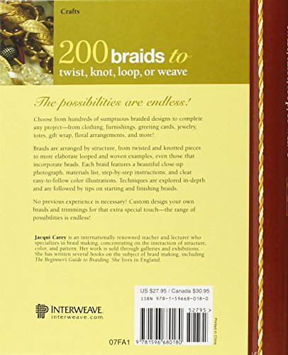 200 Braids to Twist, Knot, Loop, or Weave