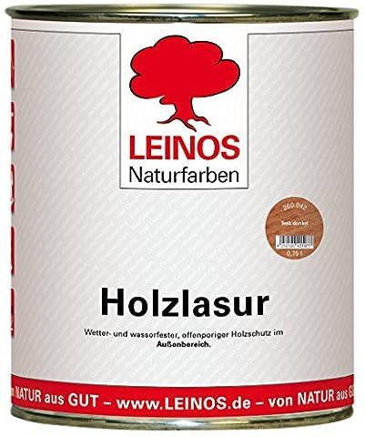 Lasure Teck - Leinos 260 Lasure pour bois Pour