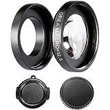 Neewer® 12,5X Ampliación Macro cerca de la lente con el anillo adaptador para GoPro Hero 3 3+ 4, Fit Gopro héroe cuerpo sin ningún salto Casa