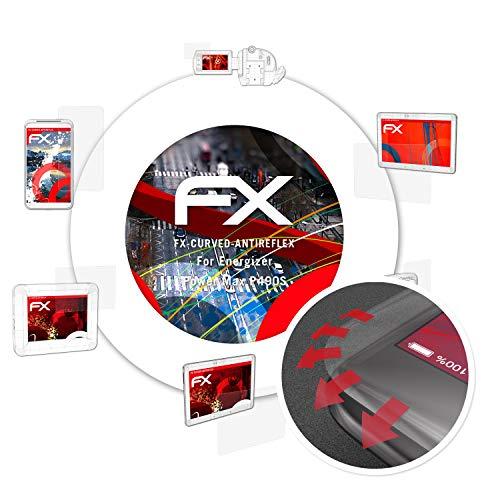 atFolix Schutzfolie passend für Energizer Power Max P490S Folie, entspiegelnde & Flexible FX Bildschirmschutzfolie (3X)
