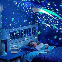 Dönen Star Master Renkli Yıldızlı Gökyüzü Projeksiyon Gece Lambası