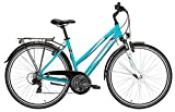 Damen Fahrrad 28 Zoll türkis - Pegasus Avanti Trekkingbike - Shimano Schaltung, StVZU Beleuchtung