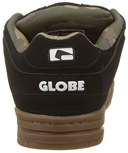 Globe Scribe, Scarpe da Skateboard Uomo Multicolore (Black/camo/gum)