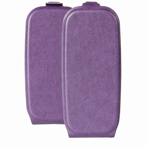 Nokia 105 (2017) Case,Nokia 105 (2017) Case,Anti-Scratch Premium PU Leather Wallet Snap Case Anti-Scratch Anti-Scratch Flip Cover for Nokia 105 (2017) Purple
