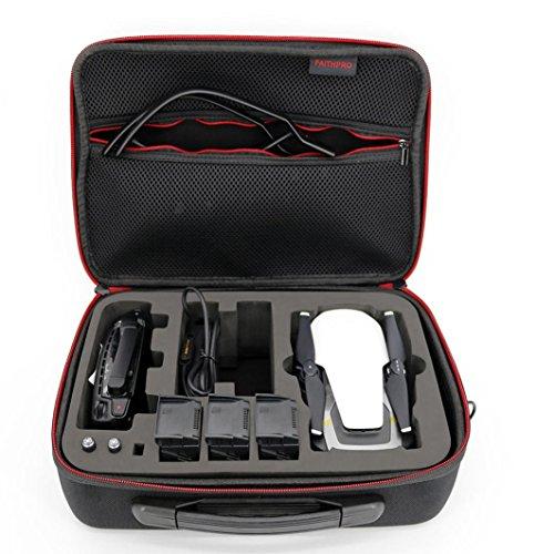 Wokee Zubehör Tasche Organizer Power Bank wasserdichte Oxford Tuch Binder Carry Lagerung für DJI Mavic Air Quadcopter + 3 Batterie + Control - Air Oxford