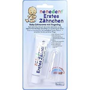 NENEDENT Baby Erstes Zähnchen Zahncr.+Fingerling 15 ml Zahncreme