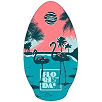 Skimboard slidz 37 95cm FLORIDA aqua-pink Tabla de Surf Playa