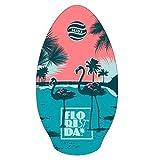 Skimboard SLIDZ 37 95cm Florida Aqua-Pink surfbrett strandbrett